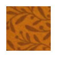 Vilt lapje olijf print oranje 30 x 40 cm per lapje