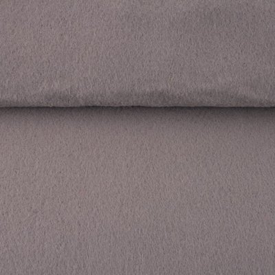 Vilt grijs 3 mm dik 90 cm breed per meter