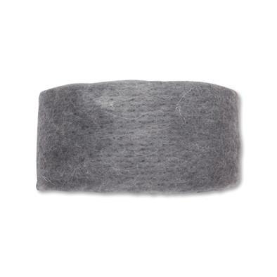 Wolband 7 cm breed grijs per rol