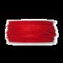 Vilt band 4 mm breed licht rood per meter