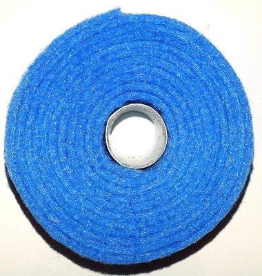 Vilt band op rol 2 cm breed 1,5 meter lang licht blauw