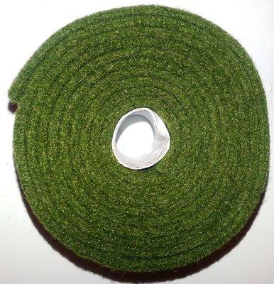 Vilt band op rol 2 cm breed 1,5 meter lang olijf