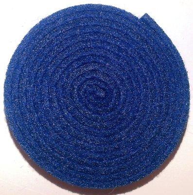 Vilt band op rol 2 cm breed 1,5 meter lang nachtblauw