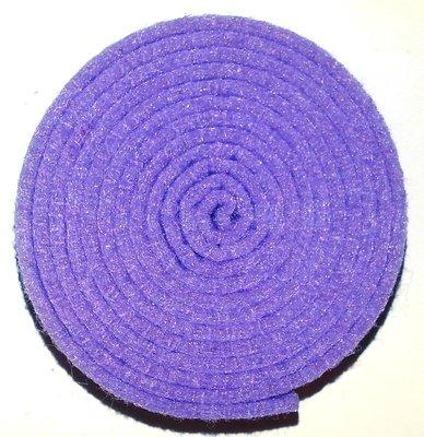 Vilt band op rol 2 cm breed 1,5 meter lang lila