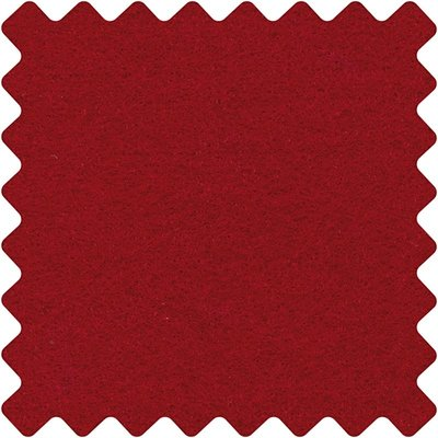 Vilt 3 mm Bordeaux  42 x 60 cm