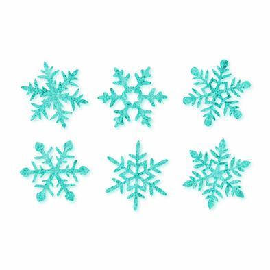 Vilt ijs sterren, Mint, 12 st. per verpakking