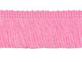 Franje band roze 30 mm breed, per meter