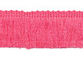 Franje band oud roze 30 mm breed, per meter