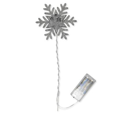 IJsster grijs met lampje per stuk