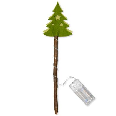 Kerstboom met lampje per stuk
