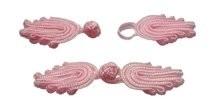 Chinese knoop sluiting licht roze