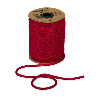 Knitted Paper Yarn Tubes, Rood, per rol