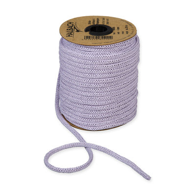 Knitted Paper Yarn Tubes, Lila, per rol