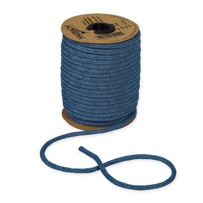 Knitted Paper Yarn Tubes, Blauw, per rol