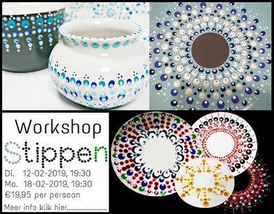 Workshop Stippen!!!