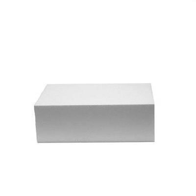 Styropor gebakje, 10 x 5 x 5 cm