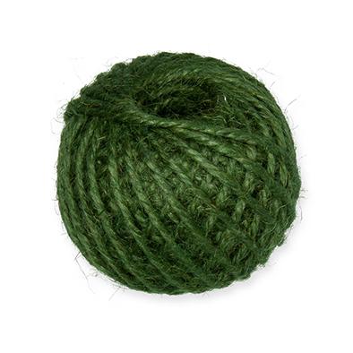 Jute touw, Groen