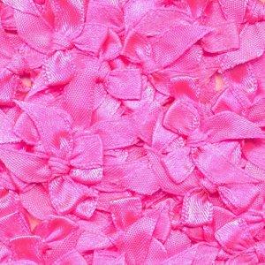 Strik neon roze 20 x 25 mm 10 stuks