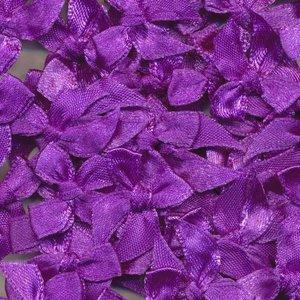Strikje satijn paars 20 x 25 cm 10 stuks