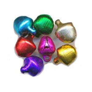 Belletjes gekleurd assorti 8 mm 20 stuks per zakje