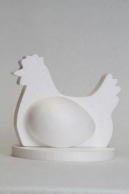 Zittende kip, 4-delig