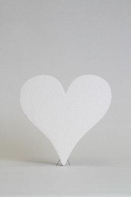 Hart, 3 cm dikte, verschillende afmetingen