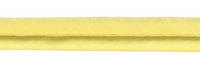 Piping paspelband dik zachtgeel 4 mm DIK per meter