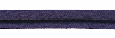 Piping paspelband dik donkerblauw 4 mm DIK per meter