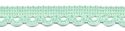 Lusjesband mint groen 12 mm breed per meter