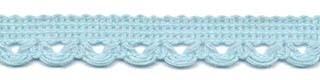 Lusjesband licht blauw 12 mm breed per meter