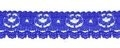 Kant kobalt blauw 17 mm breed