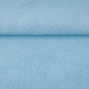 Vilt gemeleerd licht blauw 1,5 mm dik 90 cm breed per meter