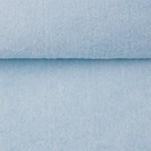 Vilt licht blauw gemeleerd 1,5 mm dik 90 cm breed per meter