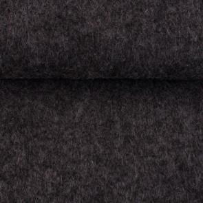 Vilt donker grijs gemeleerd 3 mm dik 90 cm breed per meter