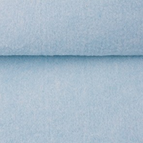 Vilt licht blauw gemeleerd 3 mm dik 90 cm breed per meter