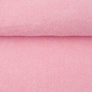 Vilt licht roze gemeleerd 3 mm dik 90 cm breed per meter