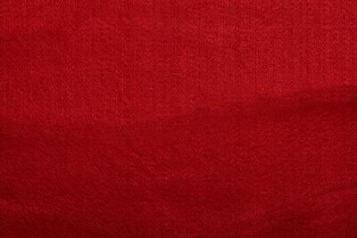 Vilt rood 180 cm breed per meter