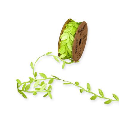 Satijn blaadjes fel groen ca. 1 meter per zakje