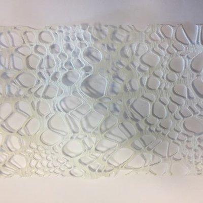 Net band wit 10 cm breed 50 cm lang per stuk