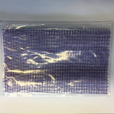 Jute Grof paars 17 cm breed lengte 25 cm per stuk