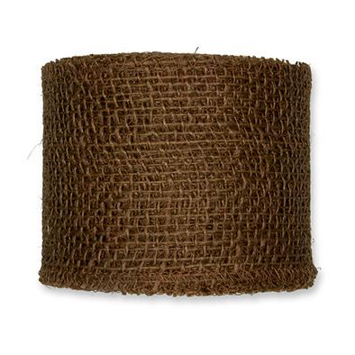 Jute bruin 8 cm breed lengte 50 cm per stuk