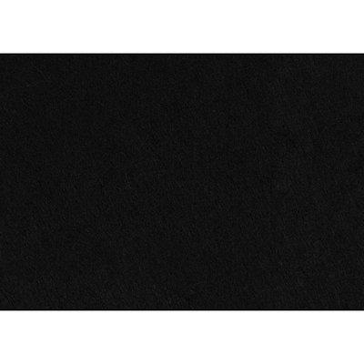 Budgetvilt, Zwart 20 x 30 cm