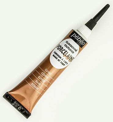Porcelaine Contour Copper per tube