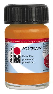 Marabu porseleinverf oranje 15 ml