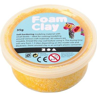 Foam clay geel 35 gram
