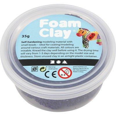 Foam clay donker paars 35 gram
