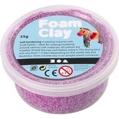 Foam clay paars 35 gram
