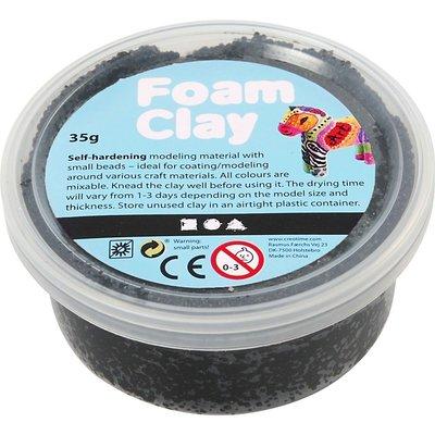 Foam clay zwart 35 gram