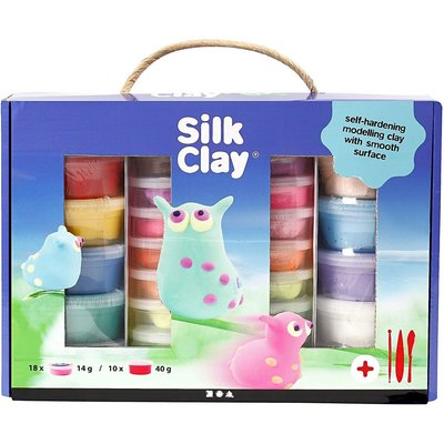 Silk clay pakket