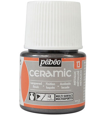 Pebeo Ceramic Metallic 45 ml